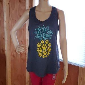 Paw Print Pineapple Tank